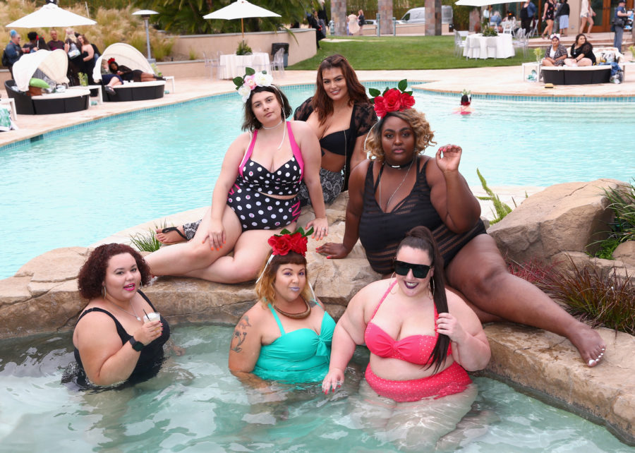 Torrid threw a fabulous pool party with all of our fave plus-size beauty and fashion influencers