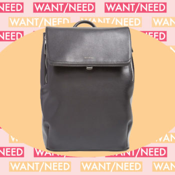 WANT/NEED: A backpack for fancy ladies, plus more stuff you'll actually want to buy