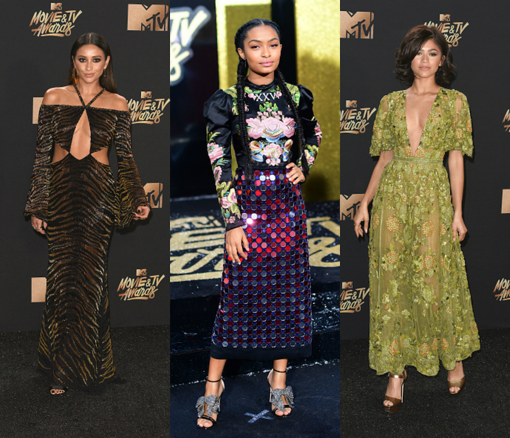 From mermaid gowns to cowboy boots, here are 16 of our favorite MTV Movie and TV Awards looks