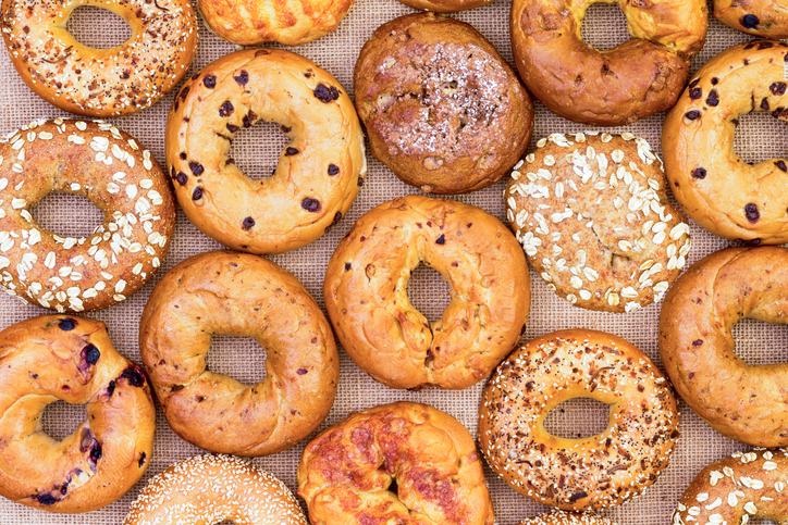 But first, coffee-infused bagels: Here's what caffeinated bagels actually taste like