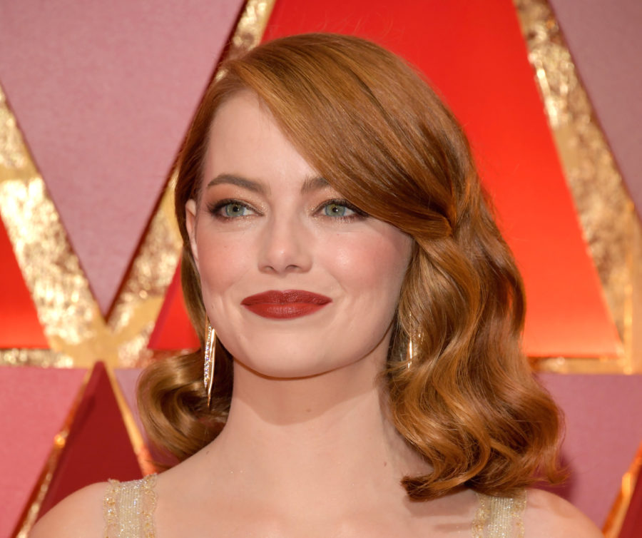 Emma Stone shows us what it would look like if Nancy Drew went to a formal event