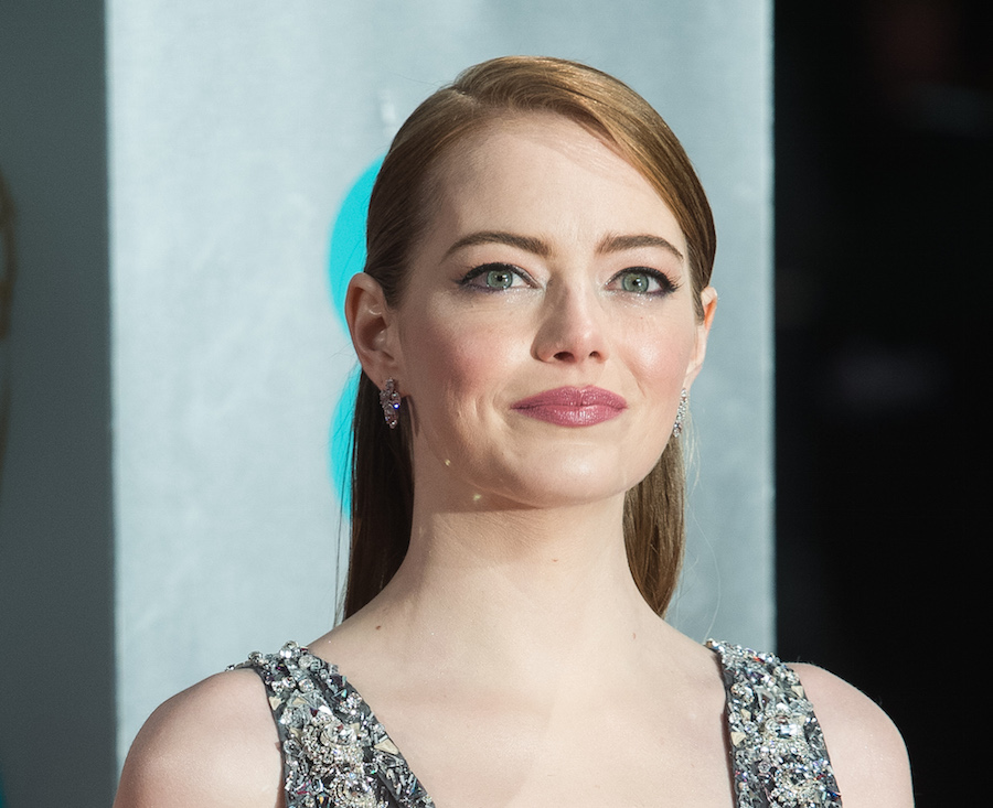 Emma Stone dyed her hair a color that looks stunning in the sunshine