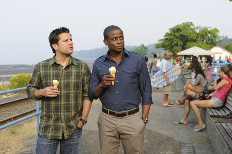 """Psych"" is coming back for one holiday episode, and happy early Christmas!"