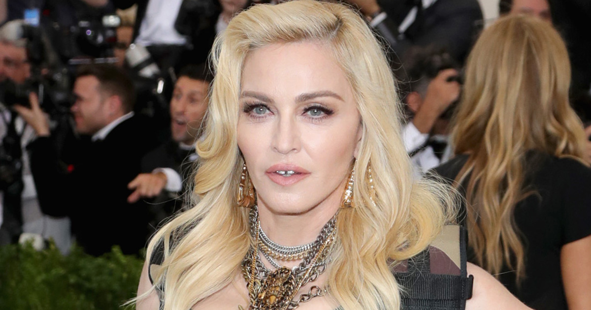 Madonna shared her thoughts on the French election, and made a great point about ageism at the same time