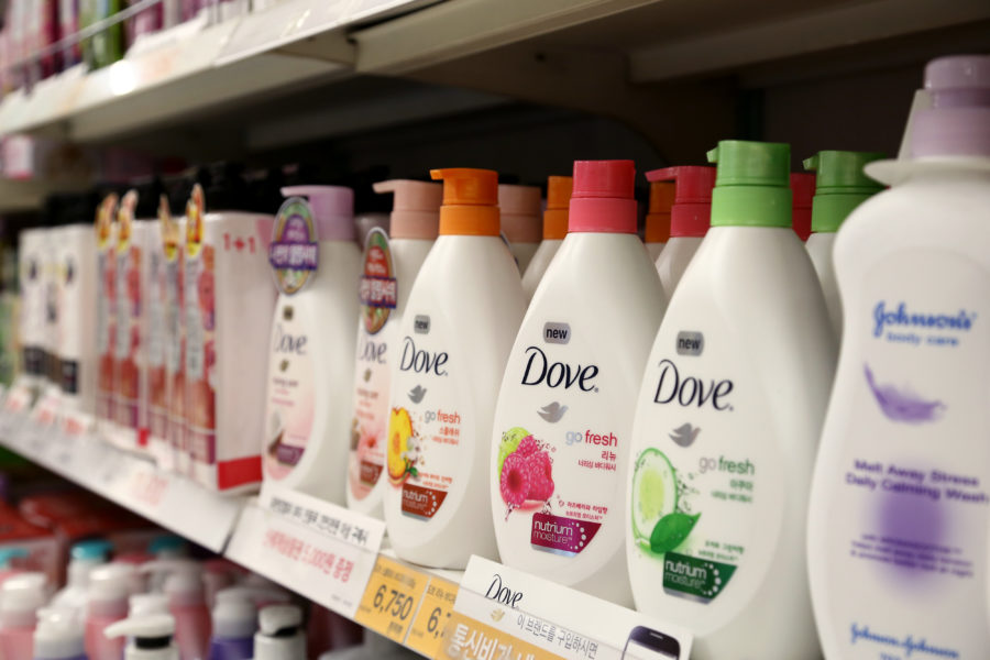 The internet has many thoughts on the shape of Dove's new body wash bottles