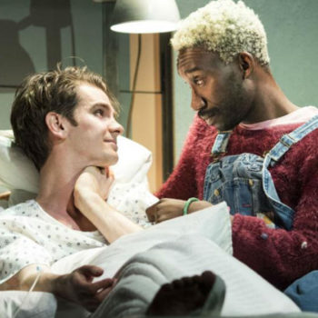 """Here's how you can watch Andrew Garfield in the London revival of """"Angels in America"""" without actually travelling"""