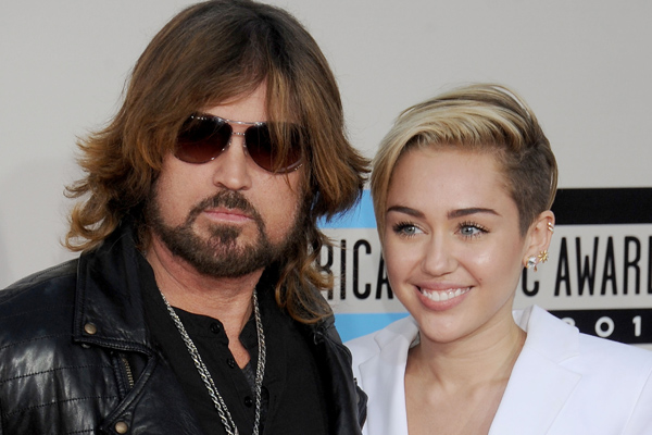"Billy Ray Cyrus gushes over Miley Cryus' new outlook and musical comeback, says ""she's firing on all cylinders"""
