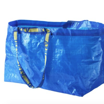 Someone took the IKEA bag and made it into a thong, because creativity comes in all shapes and sizes