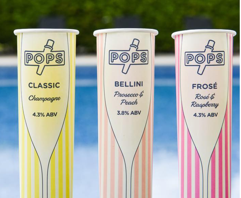 These Prosecco popsicles make you feel like a kid while drinking like an adult