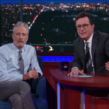 "Stephen Colbert hosted a ""Daily Show"" reunion, and it was like seeing all our old friends again"