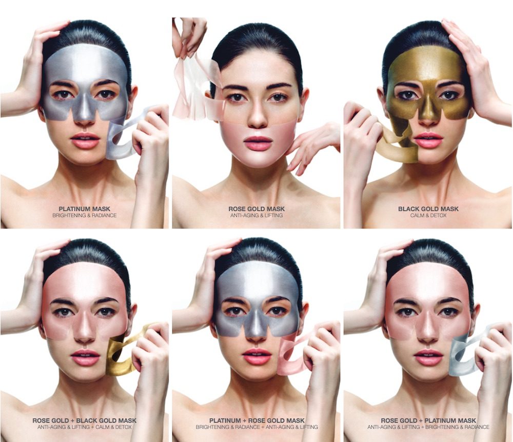 Skin Inc released customizable sheet masks to help treat your skin's individual needs