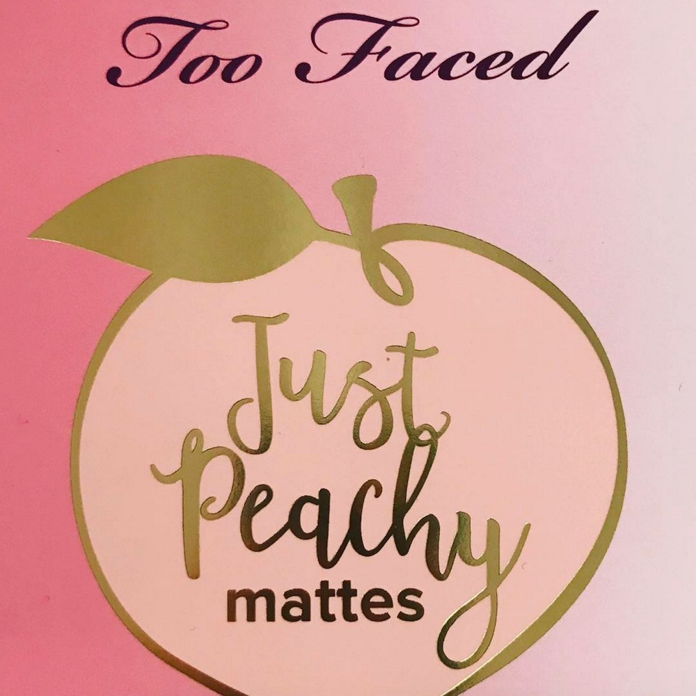 Jerrod Blandino of Too Faced blessed us with a sneak peek of a new peach-themed palette