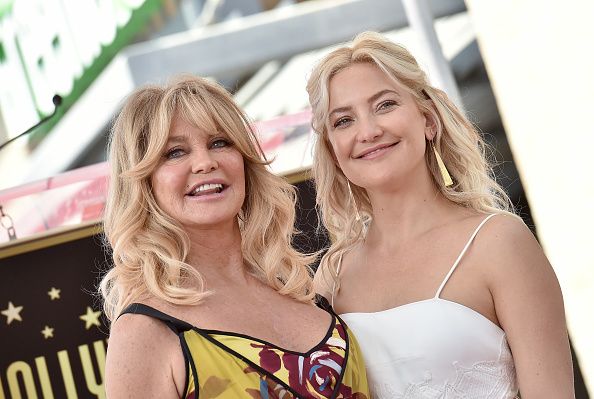 Kate Hudson and Goldie Hawn twinned in mother-daughter red-carpet outfits