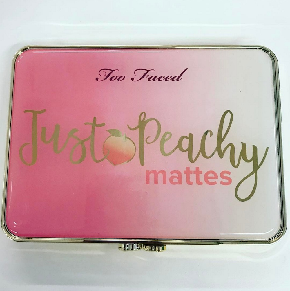 Here's what Too Faced's new Just Peachy eyeshadow palette looks like, and OMG