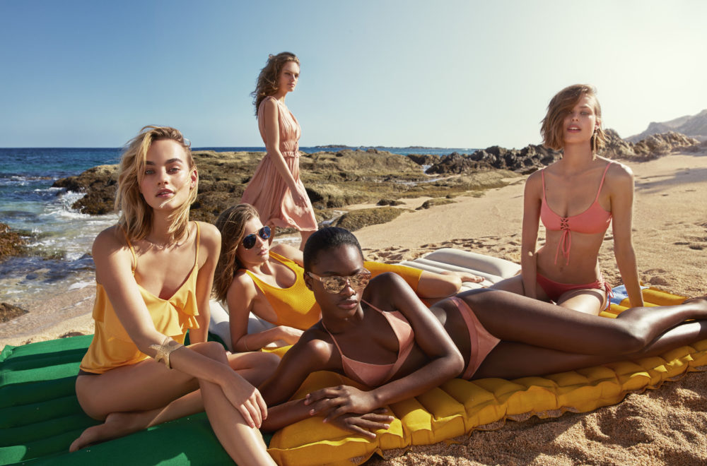 We are ready to hit the beach in style thanks to H&M's new swimwear collection