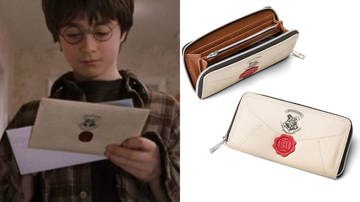 If you're still PO'ed about not getting your Hogwarts letter, this wallet is the next best thing