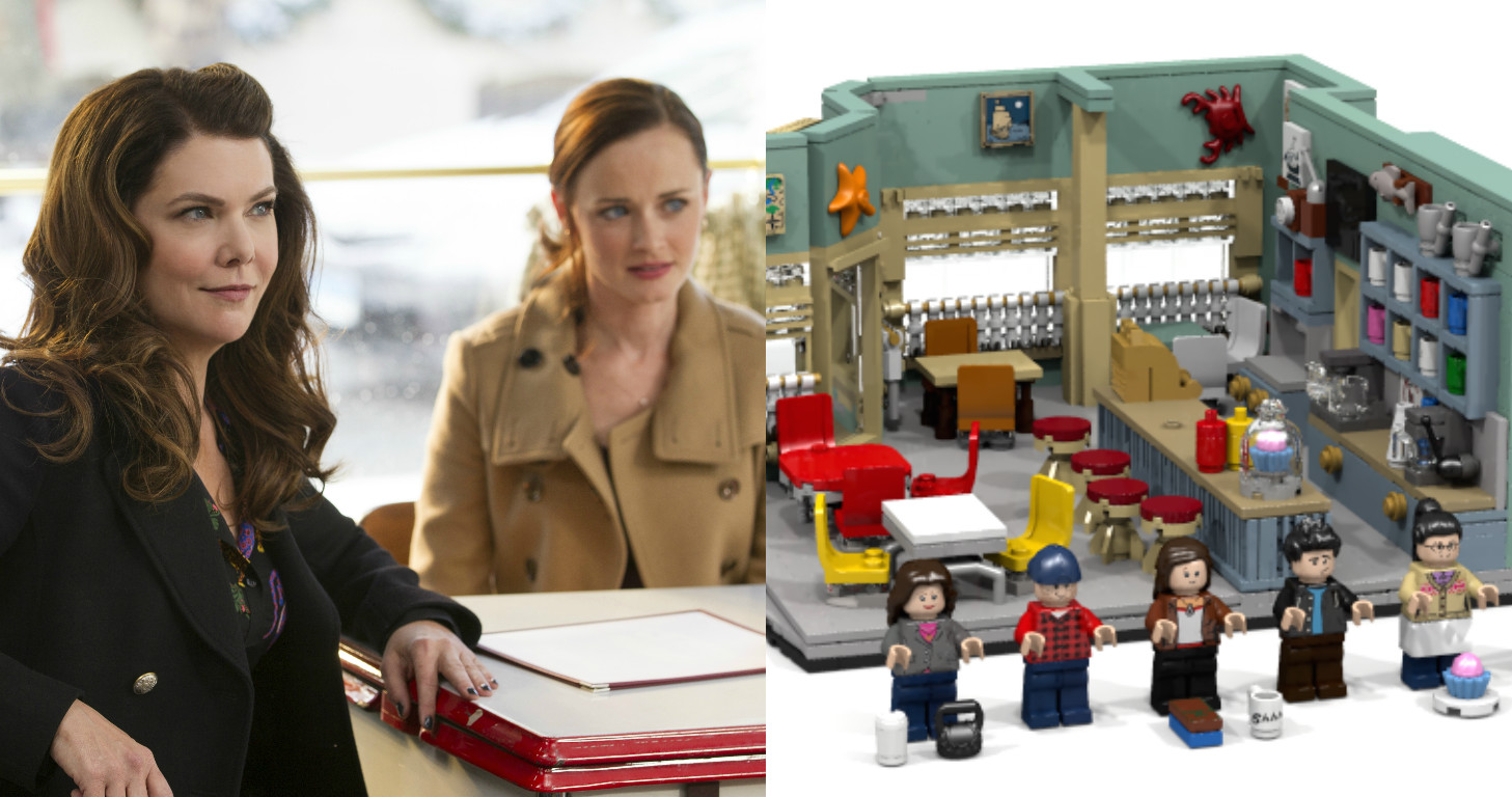 "A Lego ""Gilmore Girls"" set might be on the way, because a dream is a wish your heart makes"