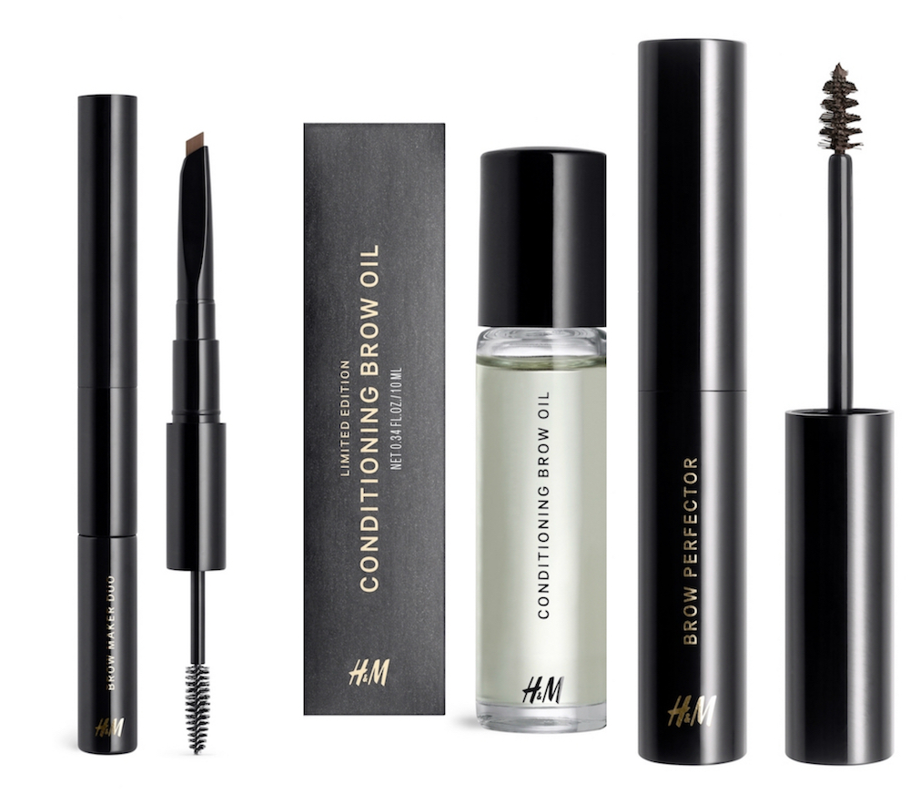 H&M's new beauty collection will make sure your brow game is on point