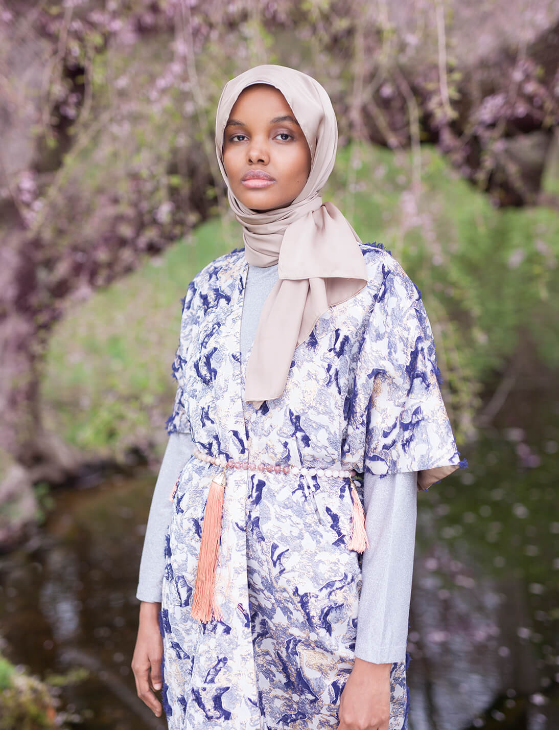 Halima Aden Shot Her First Ad Campaign And It S Bold And