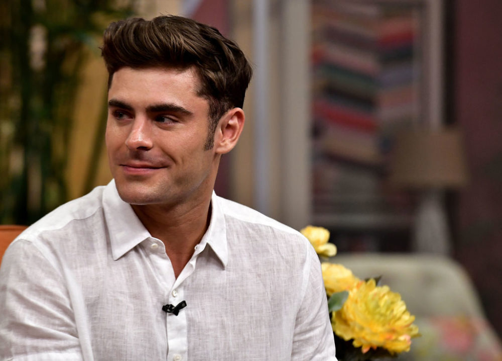 Zac Efron complimented his costar's eyes, continues to make us swoon