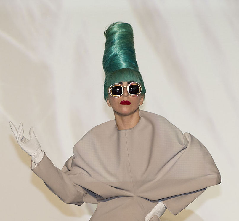 Lady Gaga's intricate sunglasses are making us believe #baroqueglam is a thing