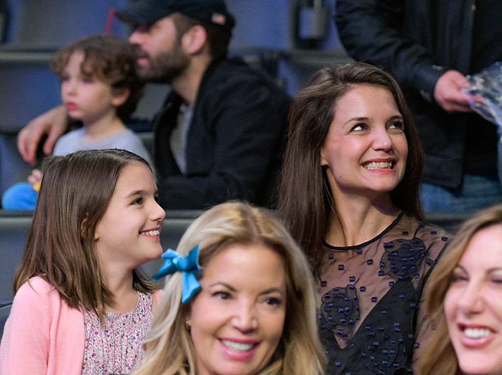 Here's photographic proof that Katie Holmes and Suri Cruise are mother-daughter #goals