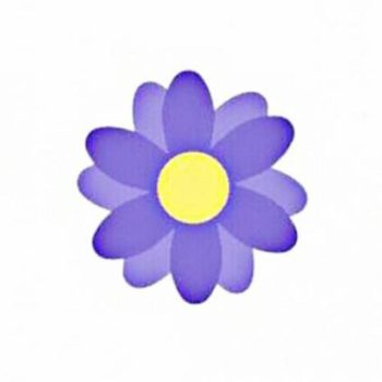 ICYMI, Facebook has added purple flowers everywhere for Mother's Day, and they're so sweet