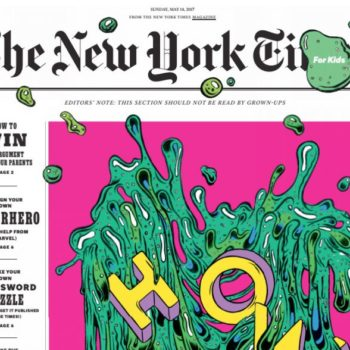 """There's a for-kids-only section in today's """"New York Times,"""" and it's actually genius"""