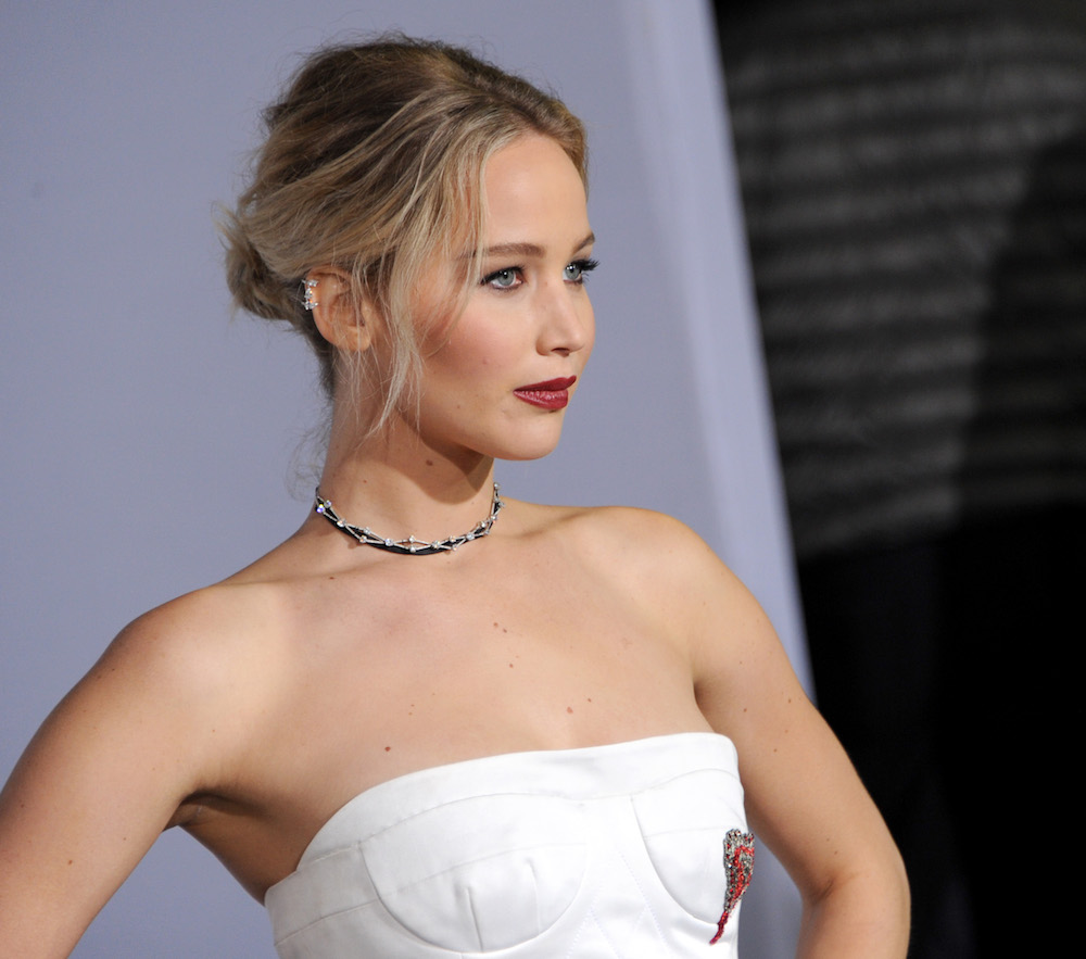 The poster for Jennifer Lawrence's newest film just dropped, and it's creepy as hell
