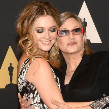"""The last thing Carrie Fisher and Billie Lourd ever did together was watch an episode of """"Scream Queens"""""""