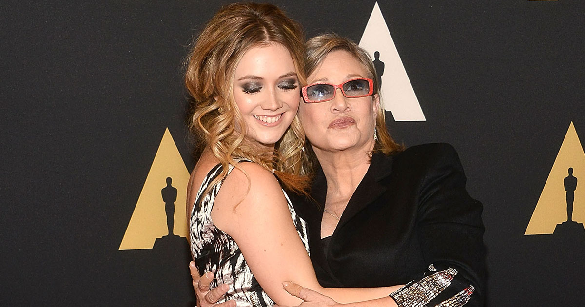 "The last thing Carrie Fisher and Billie Lourd ever did together was watch an episode of ""Scream Queens"""