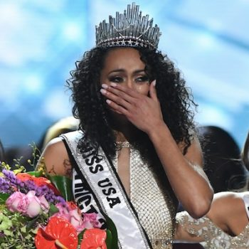 Twitter is very upset over Miss USA's comments on feminism