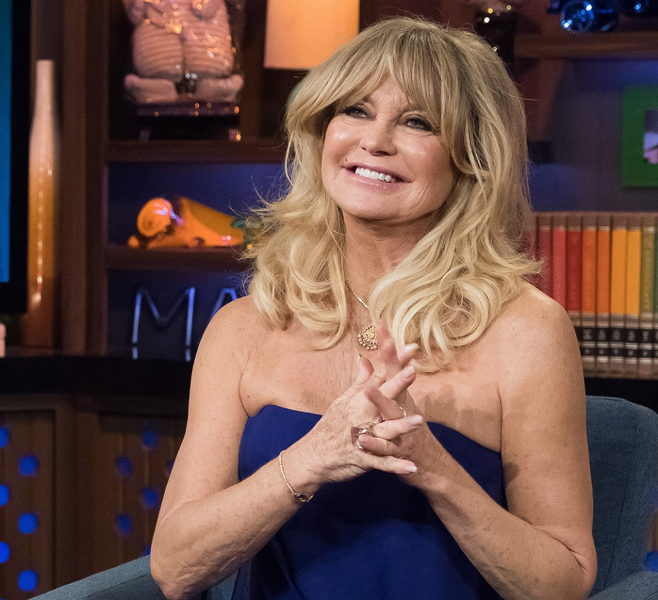 Goldie Hawn shared some incredible advice for first-time moms