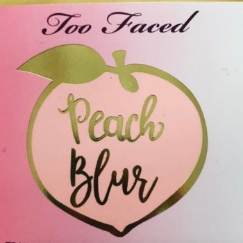 We are *so* intrigued by Too Faced's new Peach Blur product from the Peaches and Cream line
