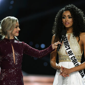 """Miss USA said affordable health care is a """"privilege,"""" not a right, and we're shaking our heads"""
