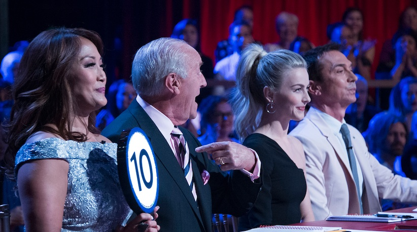"There was yet another shocking elimination on ""Dancing with the Stars"" last night"