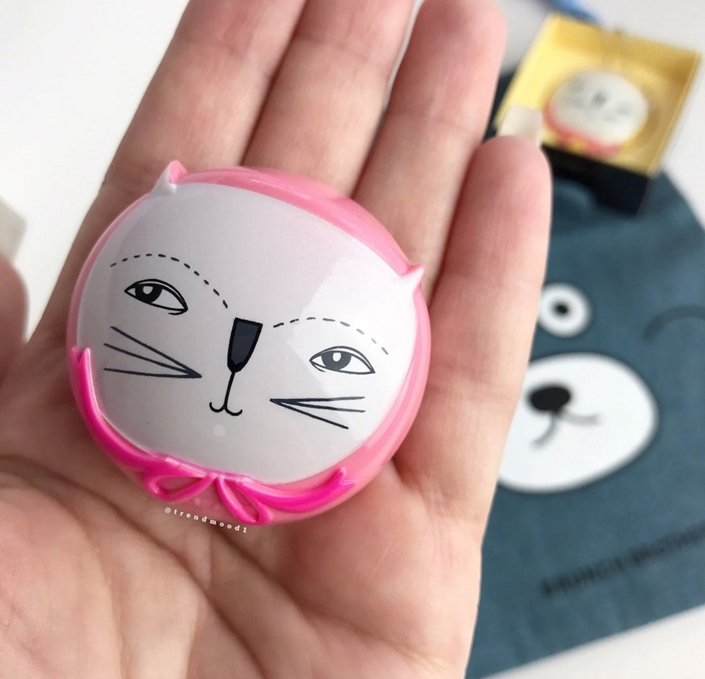 Attention cat lovers: Too Cool For School released the cutest kitten-adorned lip balm