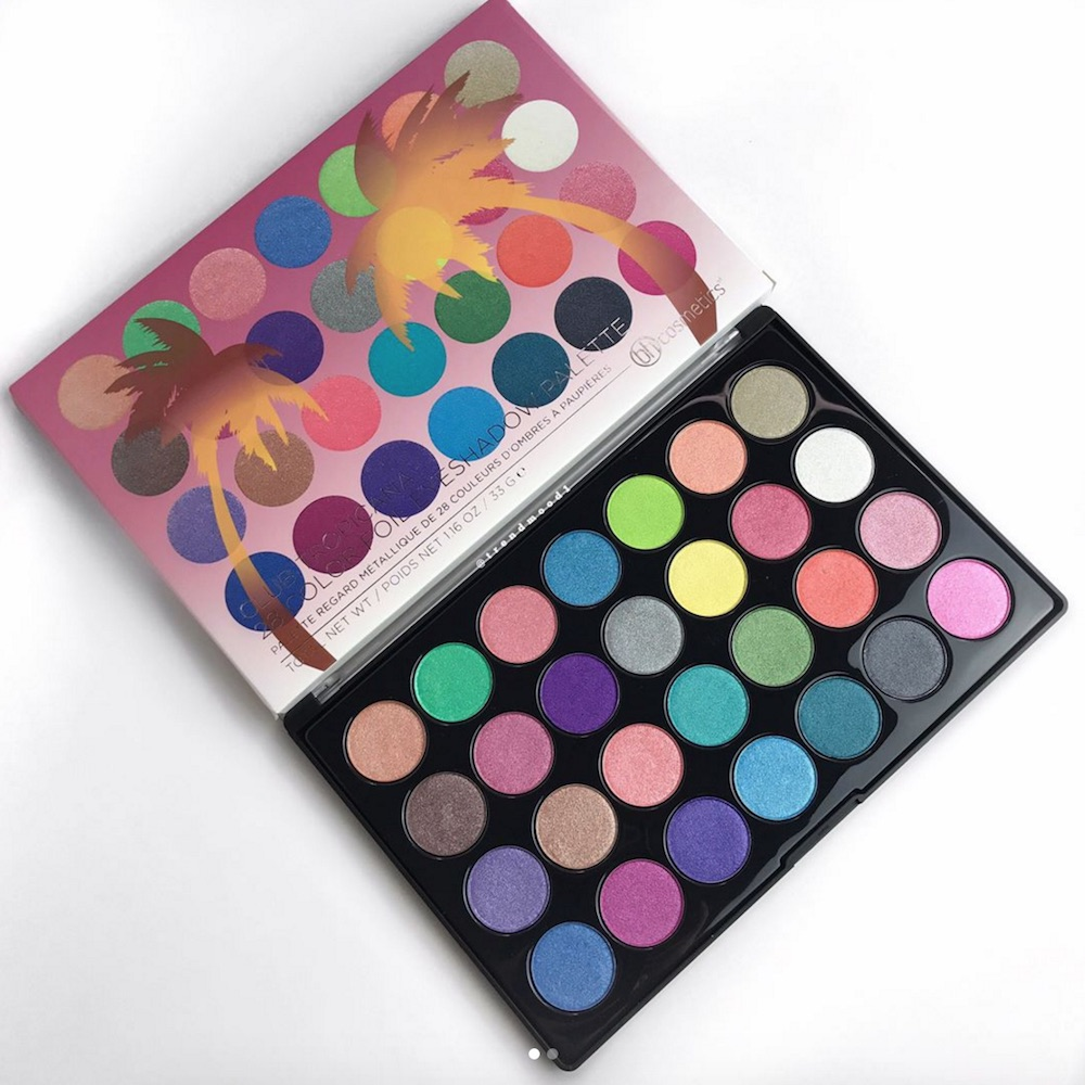 "The new eyeshadow palette from BH Cosmetics reminds us of our favorite childhood book, ""The Rainbow Fish"""