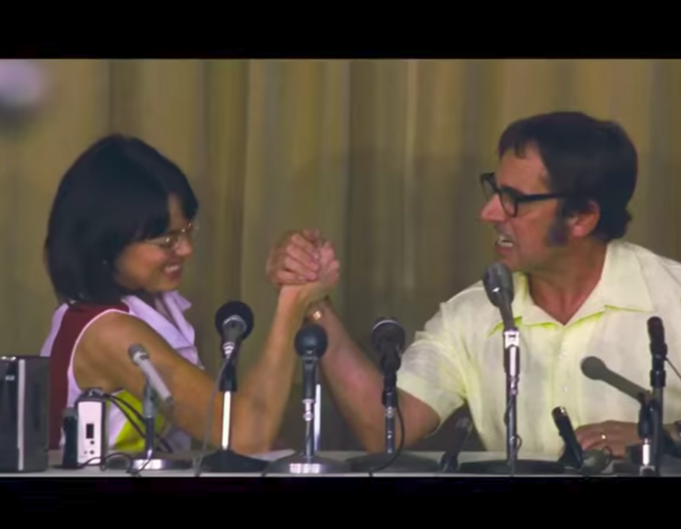 """The trailer for Emma Stone's ultra girl-power movie """"Battle of the Sexes"""" is here"""