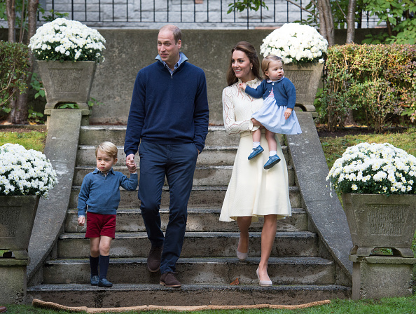 Princess Kate said she was nervous about George and Charlotte behaving at Pippa's wedding, and we just can't rn