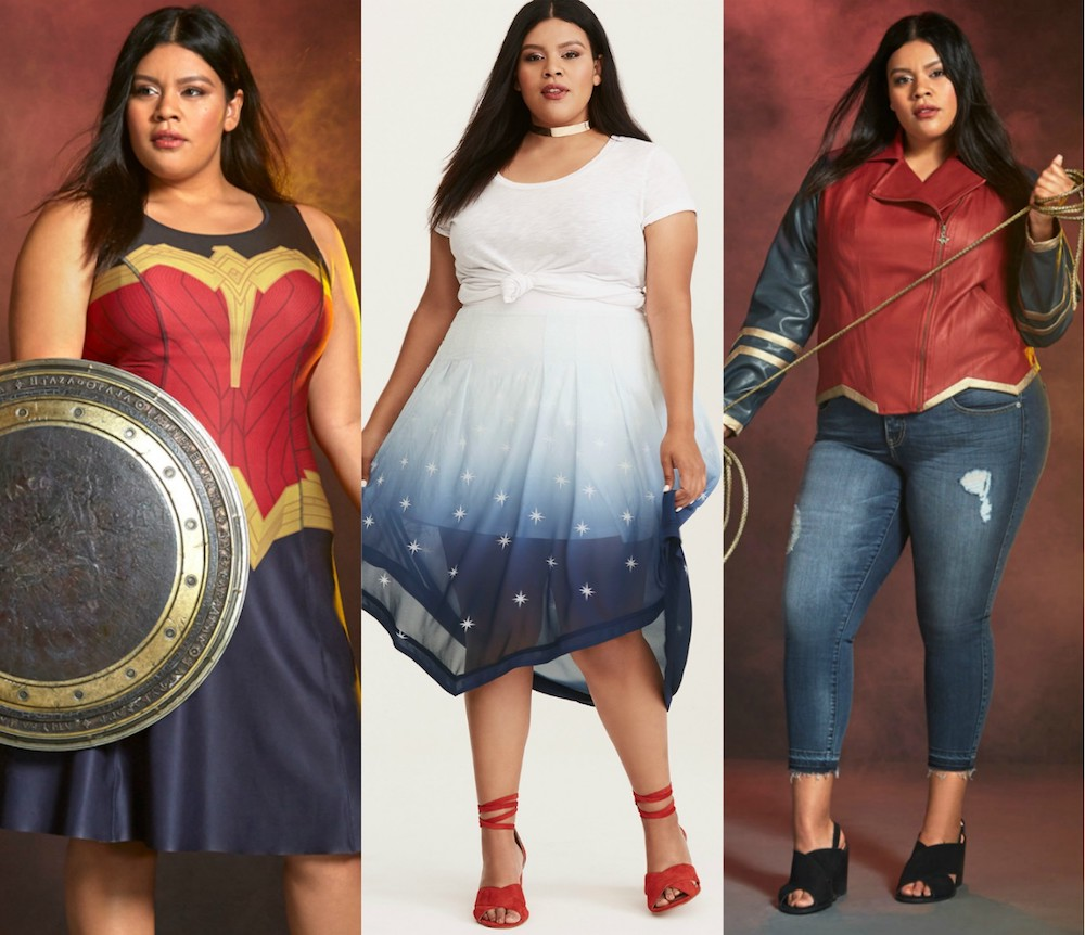 "Torrid's new ""Wonder Woman"" collection will make you feel like an Amazonian warrior"