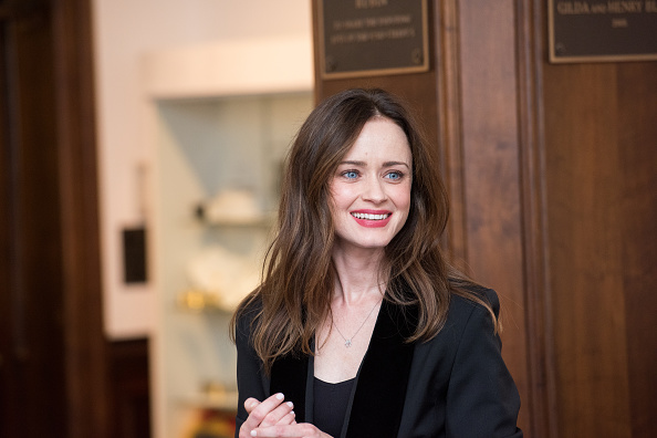 "Here's where you can buy the dress Alexis Bledel wore to the ""Sisterhood of the Traveling Pants"" reunion"