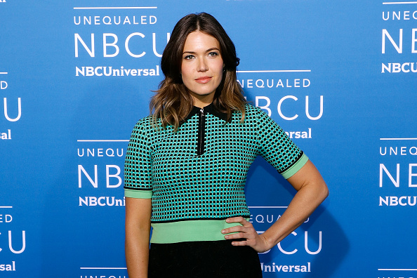 Mandy Moore's leopard print dress is perfect for anyone who thinks they can't pull off animal print