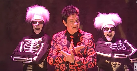 "According to the writers at ""SNL,"" David S. Pumpkins was almost a very different character"