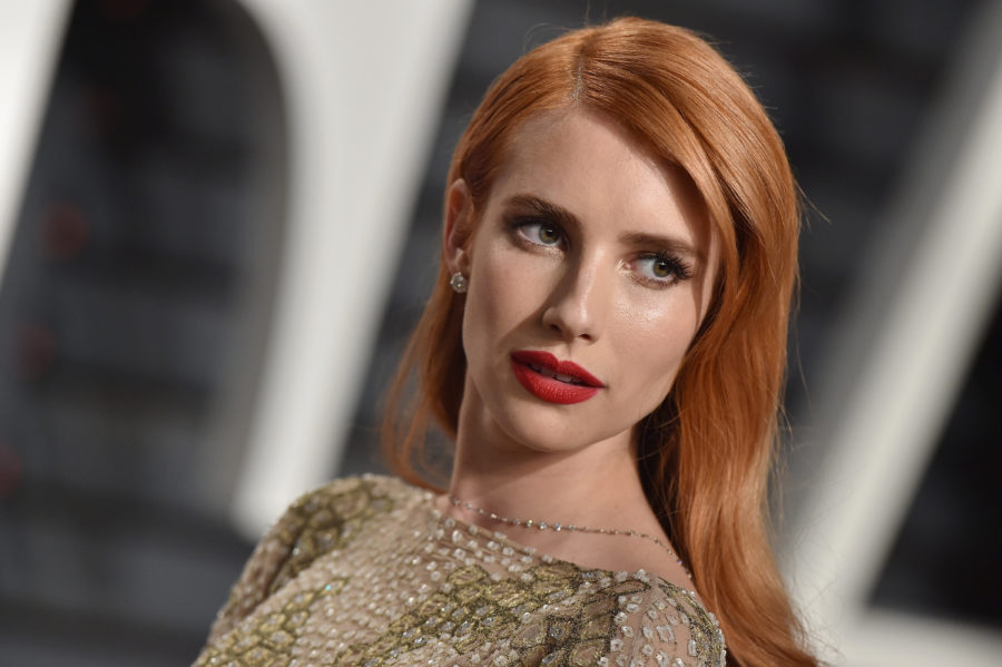 How did we not notice that Emma Roberts dyed her hair dark for goth summer?