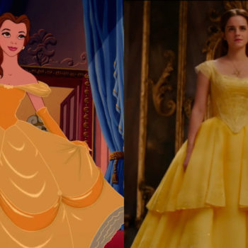 "Go behind-the-scenes of the making of Belle's iconic yellow dress in this ""Beauty and the Beast"" bonus clip"