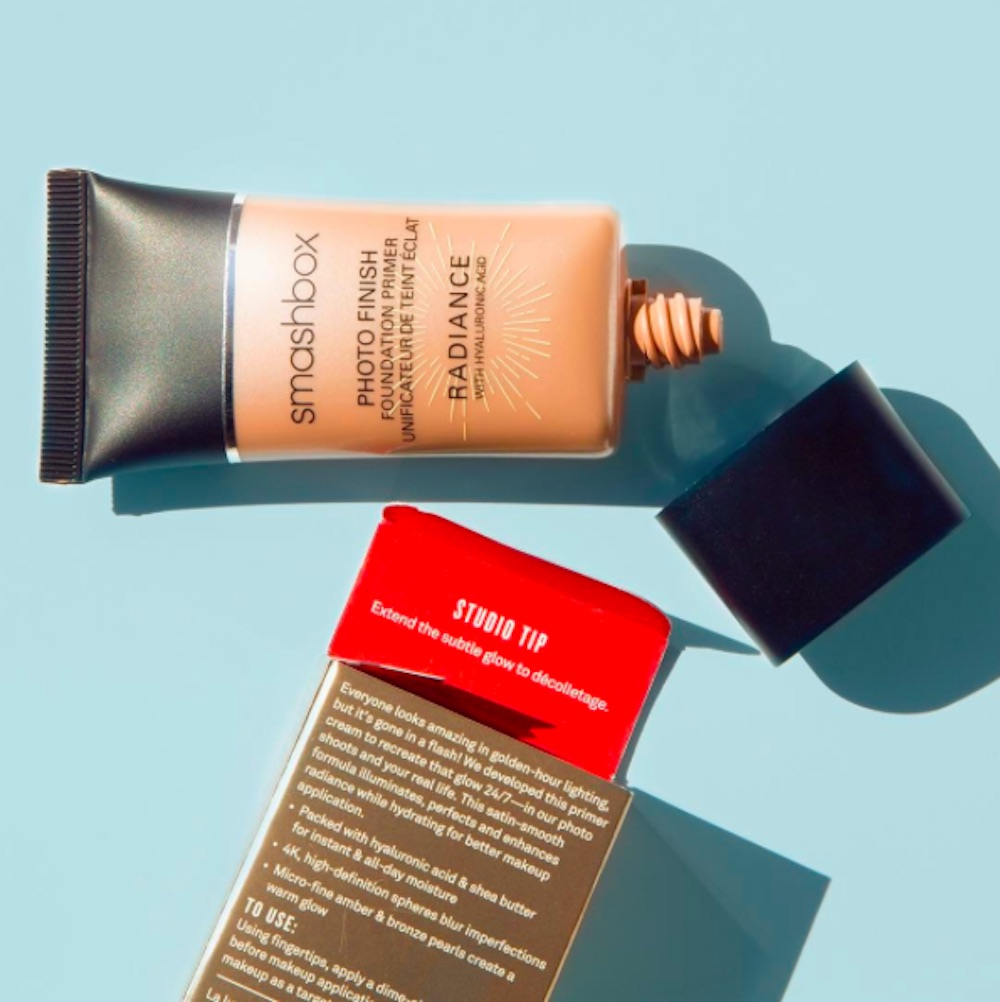Smashbox's new Photo Finish Foundation Primer will give you a sun-kissed glow