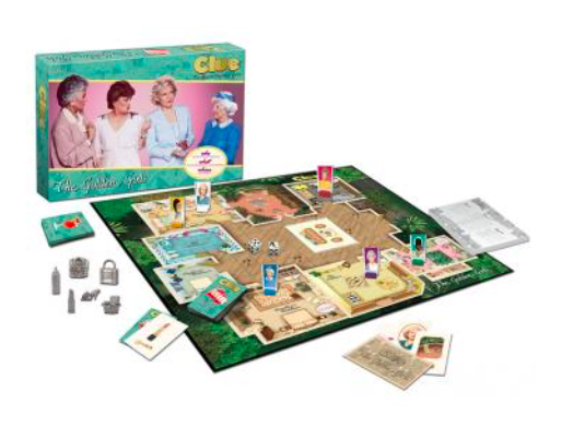 "We are 100% here for the ""Golden Girls"" edition of your fave board game, Clue"