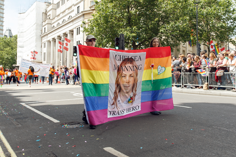 "Chelsea Manning's probably getting her own ""Vogue"" photoshoot after being released from prison"