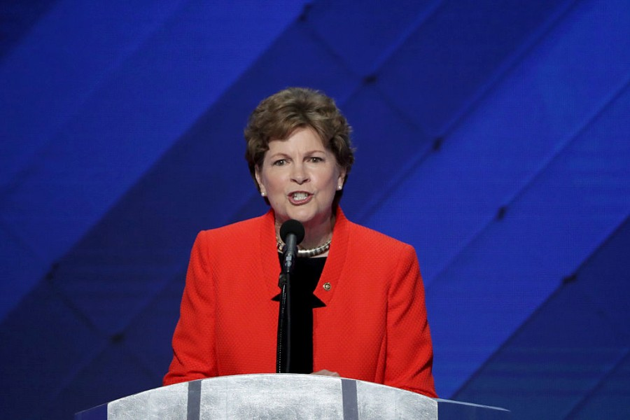 Senator Jeanne Shaheen had the best explanation for why men should pay for maternity care too